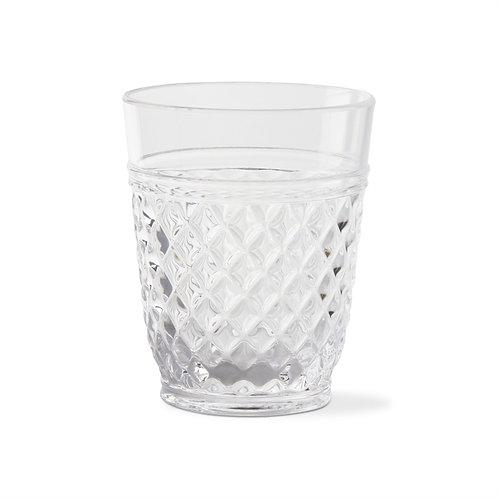Villa Acrylic Double Old Fashion Glass