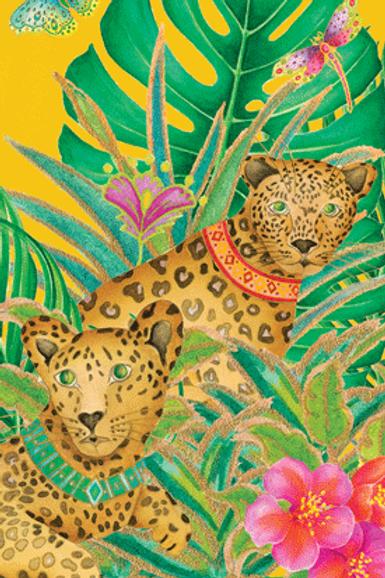 Leopards Guest Towels