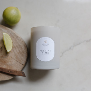 Persian Lime Candle From Linnea