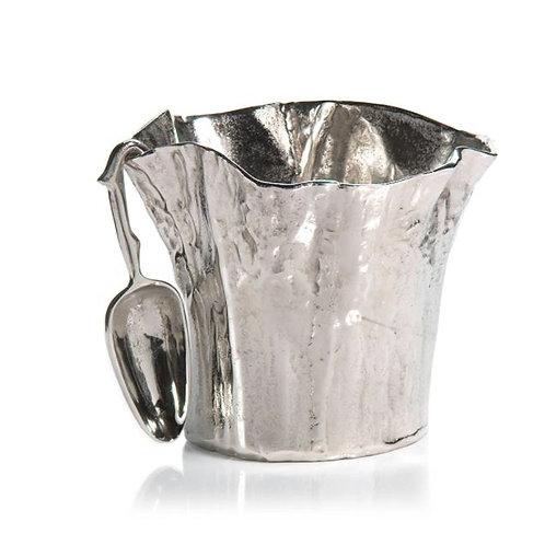 Freeform Aluminum Ice Bucket