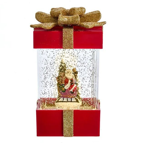 Package Snow Globe Wit Santa