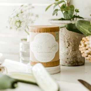Linnea's Lights Mint & Cucumber Candle