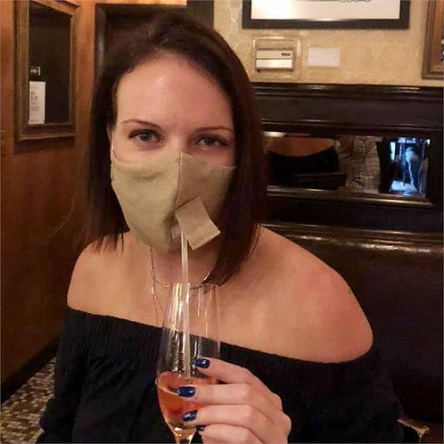 Natural Linen Happy Hour Mask