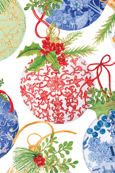 Porcelain Ornaments Guest Towels