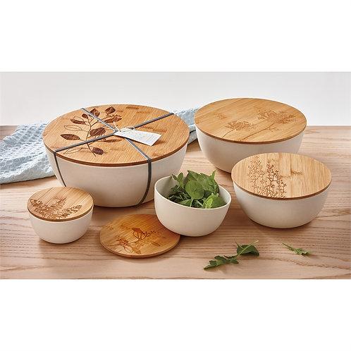 Bontanica Set/5 Bamboo Fiber Bowls