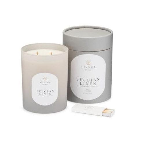 Linnea Belgian Linen 2 Wick Candle