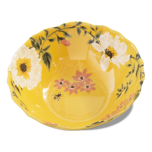 Bee & Floral Melamine Bowl