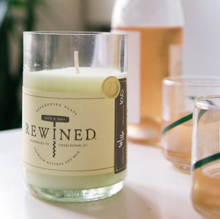 Rewined Processo Candle