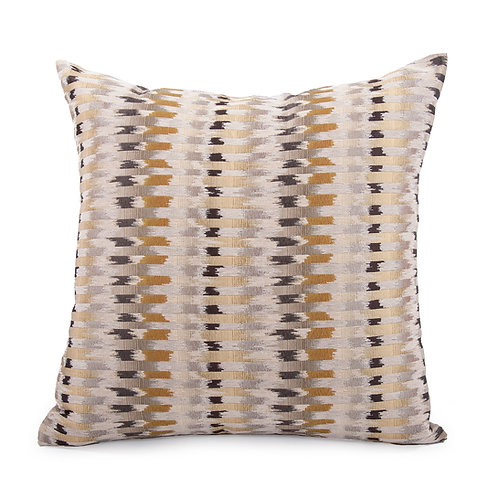 "Kenneth Ludwig Chicago 20x20"" Throw Pillow- Shaman Oro"