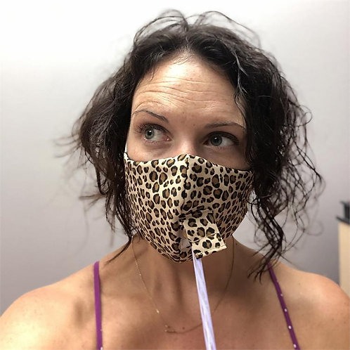 Cheetah Gold Happy Hour Mask
