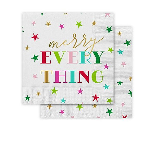 Merry Everything Cocktail Napkins