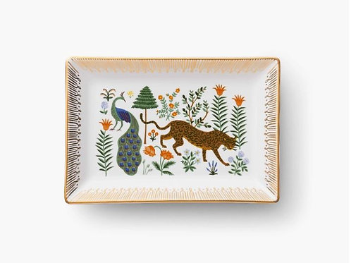 Tiger - Peacock Catchall Tray