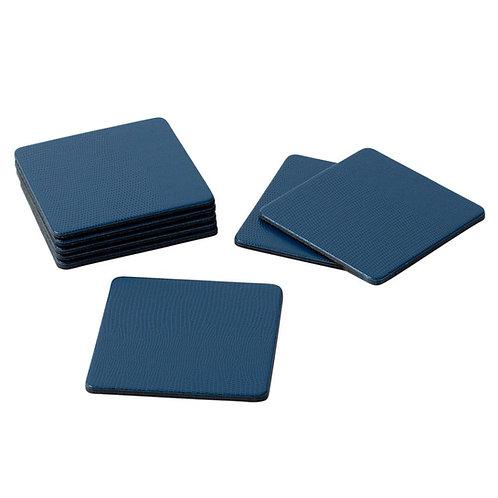 Blue Lizard Coasters - Set/8