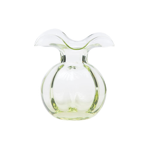 Vietri Light Green Hibiscus Bud Vase