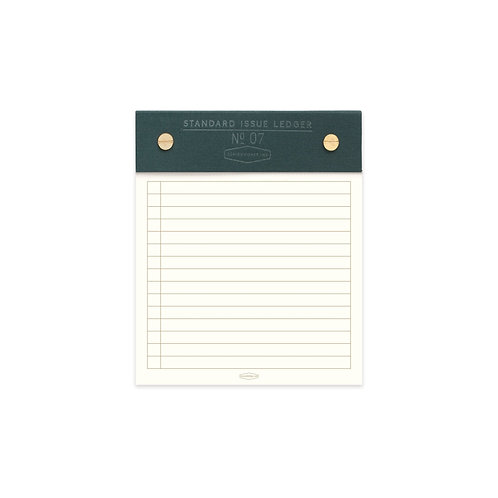 Green Standard Issue Note Pad