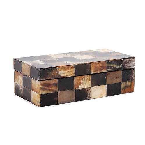 Elias Horn Tiled Box