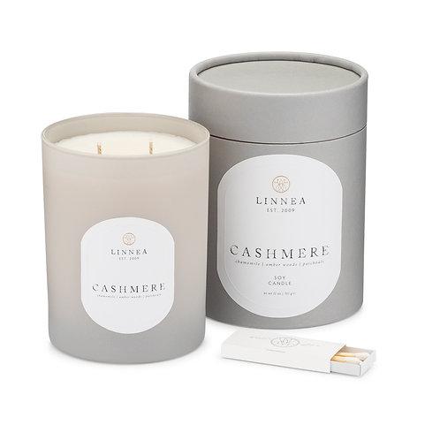 Linnea Cashmere 2 Wick Candle