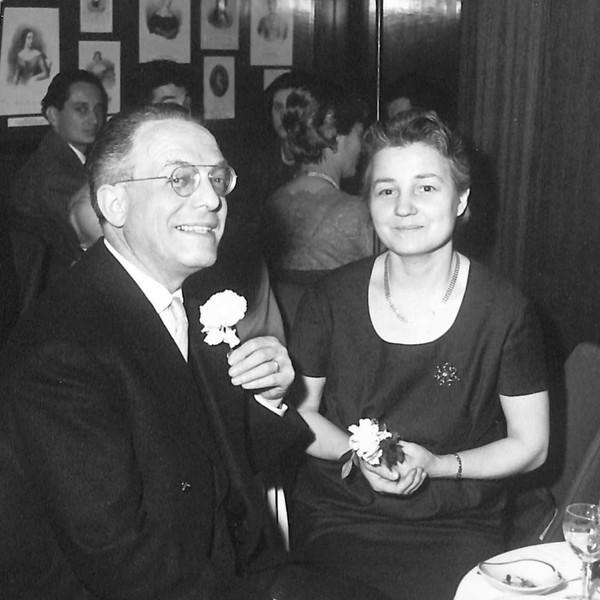 1960 con la moglie Gina.jpg