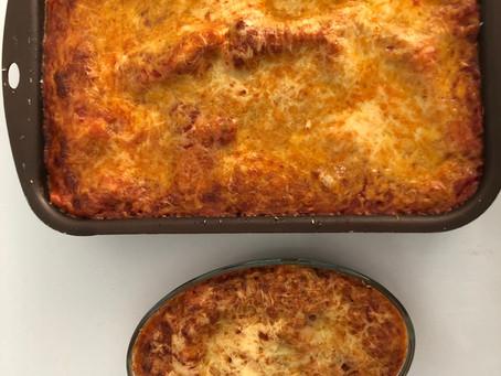 Nouvelle recette : Lasagne