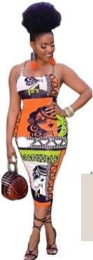 Body Con Dress (Spaghetti Strap )