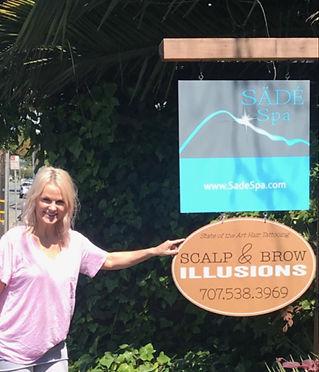 Scalp Illuson Sign