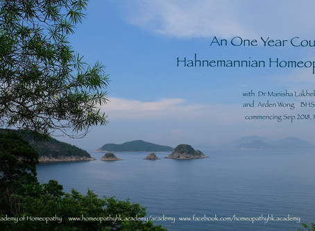 A One Year Course in Hahnemannian Homeopathy