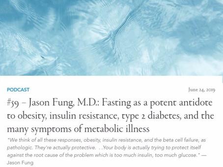 斷食治療糖尿、癡肥、新謝代謝疾病