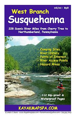 Kayak Canoe West Branch Susquehanna River Pennsylvania