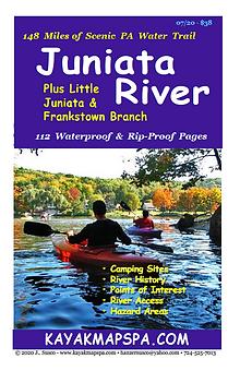 Kayak Canoe Juniata River Pennsylvania