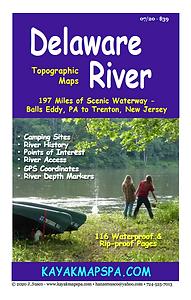 Kayak canoe Delaware River