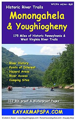 KAyak Canoe YOughiogheny River Pennsylvania