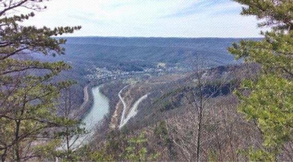Jacks Mountain in Huntingdon County Pennsylvania