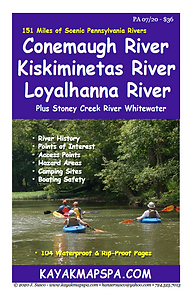 Kayak Canoe Kiskiminetas RiverConemaugh River