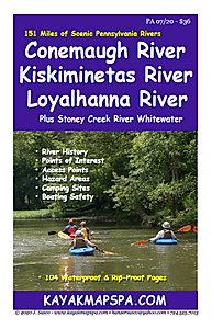 Kayak Canoe Kiskiminetas RiverConemaugh River