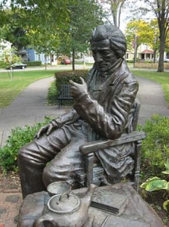 Fredrick Douglass statue