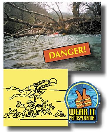 Avoid dangerous fallen tree strainers