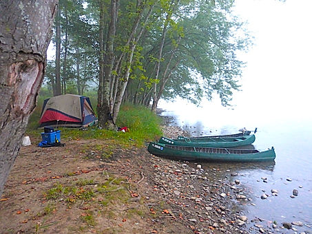 Primitive Camping on the Clarion River