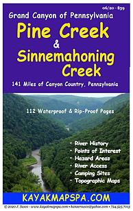Kayak, Canoe Pine Creek, Pennsylvania