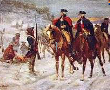 Valley forge on the Schuylkill River Pennsylvania