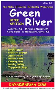 kayak Green River Kentucky maps