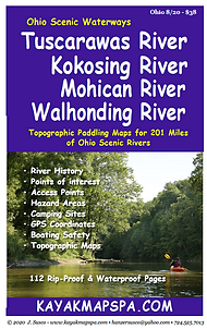 Kayak, Canoe Tuscarawas River, Kokosing River Ohio