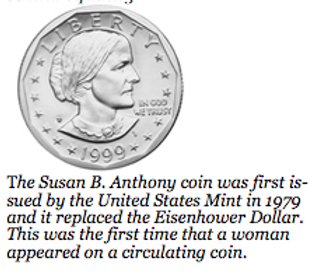 Susan B. Anthony Coin