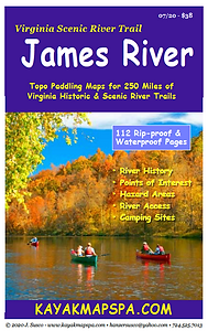 Kayak, Canoe James River Virginia
