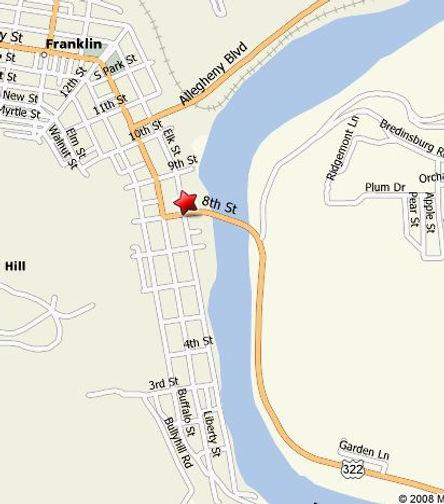 Fort Machault map location