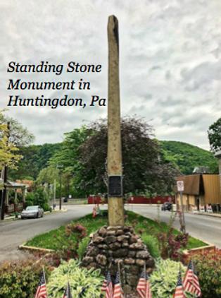 Standing Stone Monument at Huntingdon