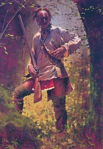 Shawnee Indian Brave