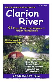 Kayak, Canoe Clarion River Pennsylvania