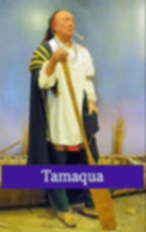 Tamaque Chief of Lnap Indians