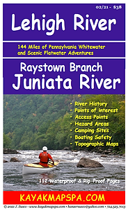 Raystown Branch Juniata River, Lehigh River Pennsylvania