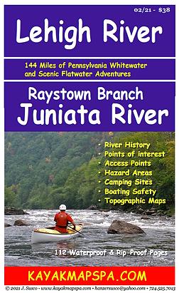 Lehigh River, Raystown Branch Juniata River, Pennsylvania